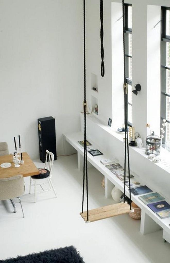 Swing: Ý tưởng thiết kế mà trẻ con hay người lớn đều ao ước được có trong nhà - Ảnh 16.