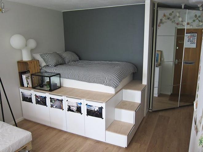 Những món đồ nội thất dường như sinh ra là để cho phòng ngủ chật   - Ảnh 1.