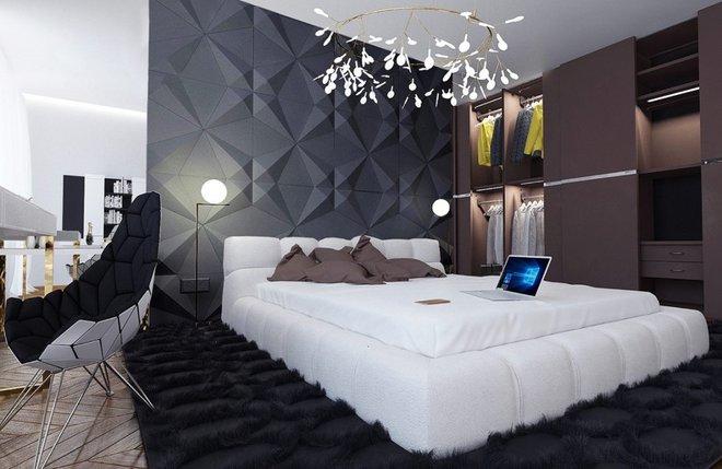 Ngắm những phòng ngủ màu xám nhưng không hề u ám và nhàm chán - Ảnh 2.