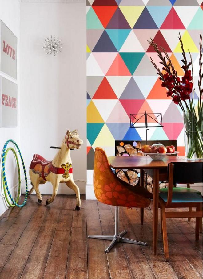 Trang trí hình nền, nếu biết khéo léo thiết kế sẽ là phong cách mới mẻ và độc lạ cho ngôi nhà của bạn - Ảnh 5.