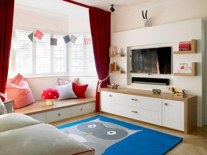 Tận dụng tối đa diện tích để tạo thêm nhiều chức năng cho phòng của bé nhờ thiết kế giật cấp - Ảnh 9.