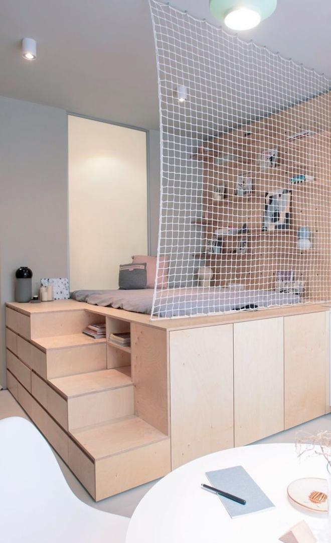 Tận dụng tối đa diện tích để tạo thêm nhiều chức năng cho phòng của bé nhờ thiết kế giật cấp - Ảnh 13.