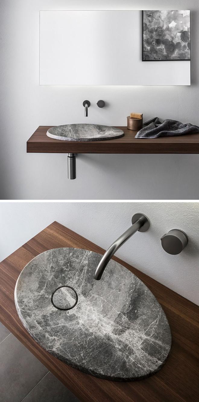 Muốn nhà tắm đẹp chỉ cần sắm một chiếc bồn rửa thế này là đủ - Ảnh 6.