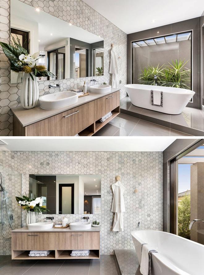 Muốn nhà tắm đẹp chỉ cần sắm một chiếc bồn rửa thế này là đủ - Ảnh 8.