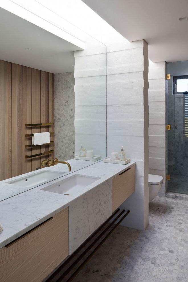Muốn nhà tắm đẹp chỉ cần sắm một chiếc bồn rửa thế này là đủ - Ảnh 9.