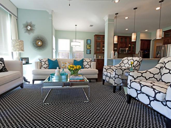 Quá đáng tiếc nếu bạn không học 20 cách kết hợp màu sắc này khi trang trí phòng khách - Ảnh 3.
