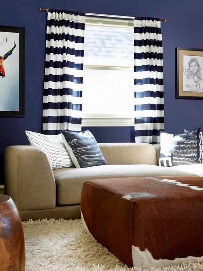 Quá đáng tiếc nếu bạn không học 20 cách kết hợp màu sắc này khi trang trí phòng khách - Ảnh 6.