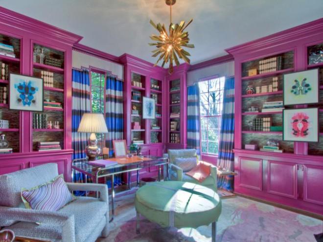 Quá đáng tiếc nếu bạn không học 20 cách kết hợp màu sắc này khi trang trí phòng khách - Ảnh 10.
