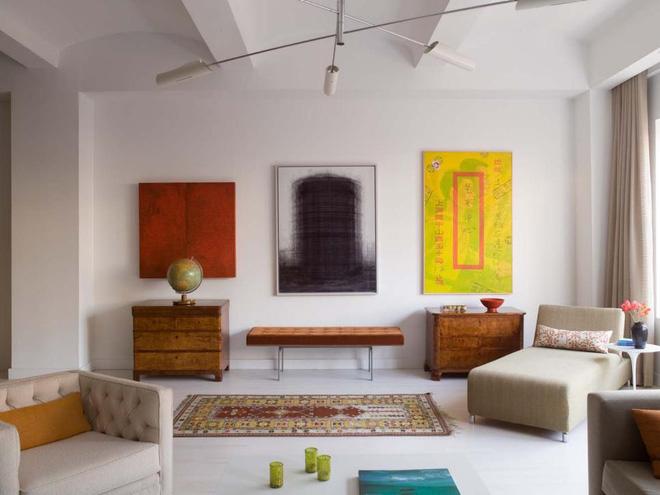 Quá đáng tiếc nếu bạn không học 20 cách kết hợp màu sắc này khi trang trí phòng khách - Ảnh 16.
