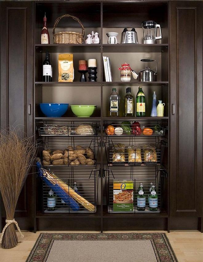 10 thiết kế tủ lưu trữ giúp bạn chứa cả thế giới chai lọ lỉnh kỉnh trong phòng bếp - Ảnh 9.