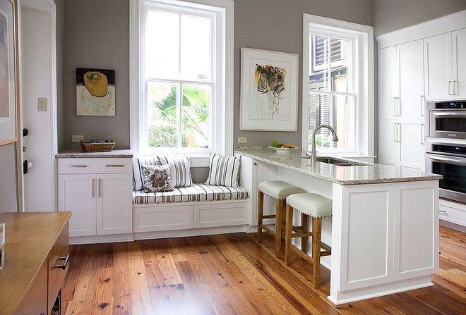 10 nhà bếp dưới đây đã trở nên phong cách hơn nhờ thiết kế ghế ngồi bên cửa sổ - Ảnh 3.