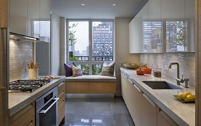 10 nhà bếp dưới đây đã trở nên phong cách hơn nhờ thiết kế ghế ngồi bên cửa sổ - Ảnh 10.