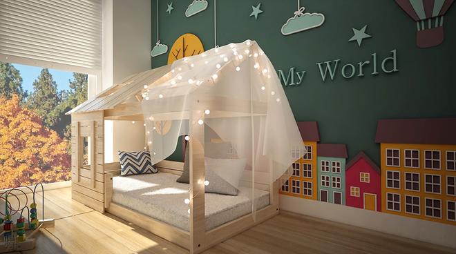 Những mẫu giường ngủ cho bé đến người lớn cũng bị đốn tim - Ảnh 11.