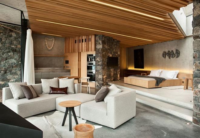 Muốn không gian sống ấm cúng nhớ đừng bỏ lỡ kiểu trần nhà bằng gỗ - Ảnh 7.