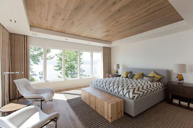 Muốn không gian sống ấm cúng nhớ đừng bỏ lỡ kiểu trần nhà bằng gỗ - Ảnh 9.