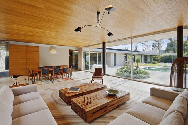 Muốn không gian sống ấm cúng nhớ đừng bỏ lỡ kiểu trần nhà bằng gỗ - Ảnh 11.