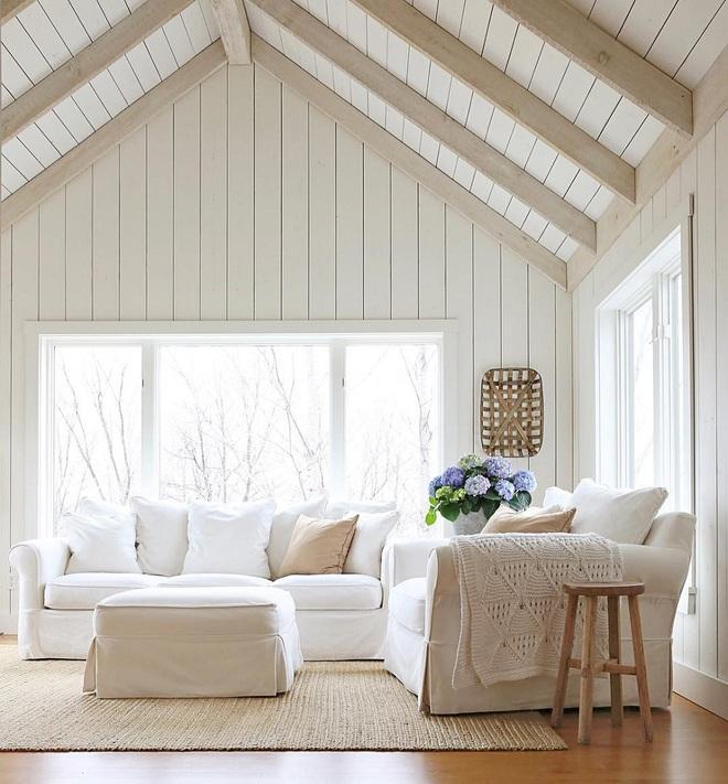 """Nếu bạn đang sở hữu một không gian """"full"""" trắng thì đây chính là ý tưởng trang trí tuyệt vời - Ảnh 2."""
