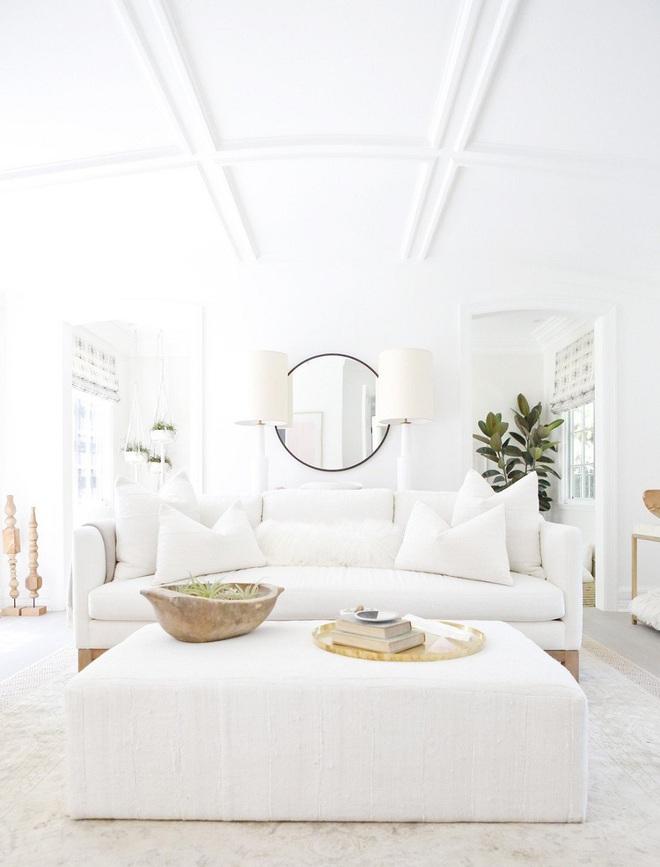 """Nếu bạn đang sở hữu một không gian """"full"""" trắng thì đây chính là ý tưởng trang trí tuyệt vời - Ảnh 4."""