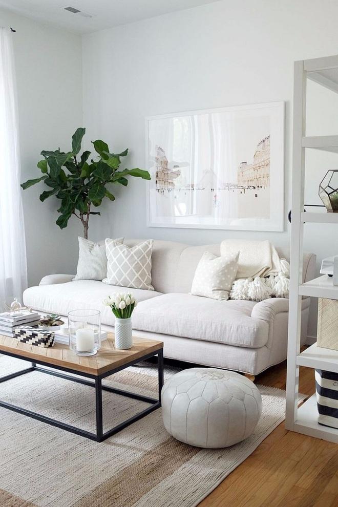 """Nếu bạn đang sở hữu một không gian """"full"""" trắng thì đây chính là ý tưởng trang trí tuyệt vời - Ảnh 11."""