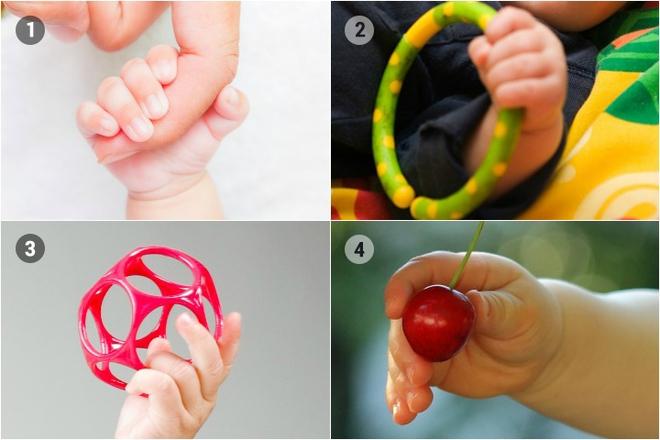 Mẹ nào thắc mắc vì sao trẻ sơ sinh có thể nắm tay chặt đến thế thì đây là câu trả lời - Ảnh 3.