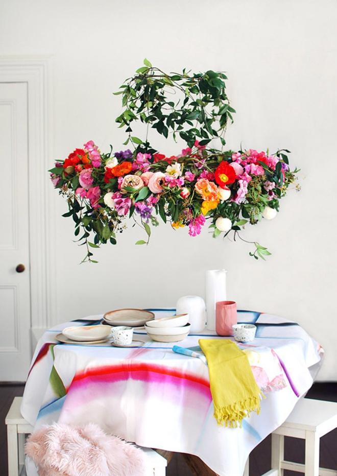 Tự làm đèn chùm hoa cho bữa tối mùa hè thêm ngọt ngào và lãng mạn - Ảnh 3.