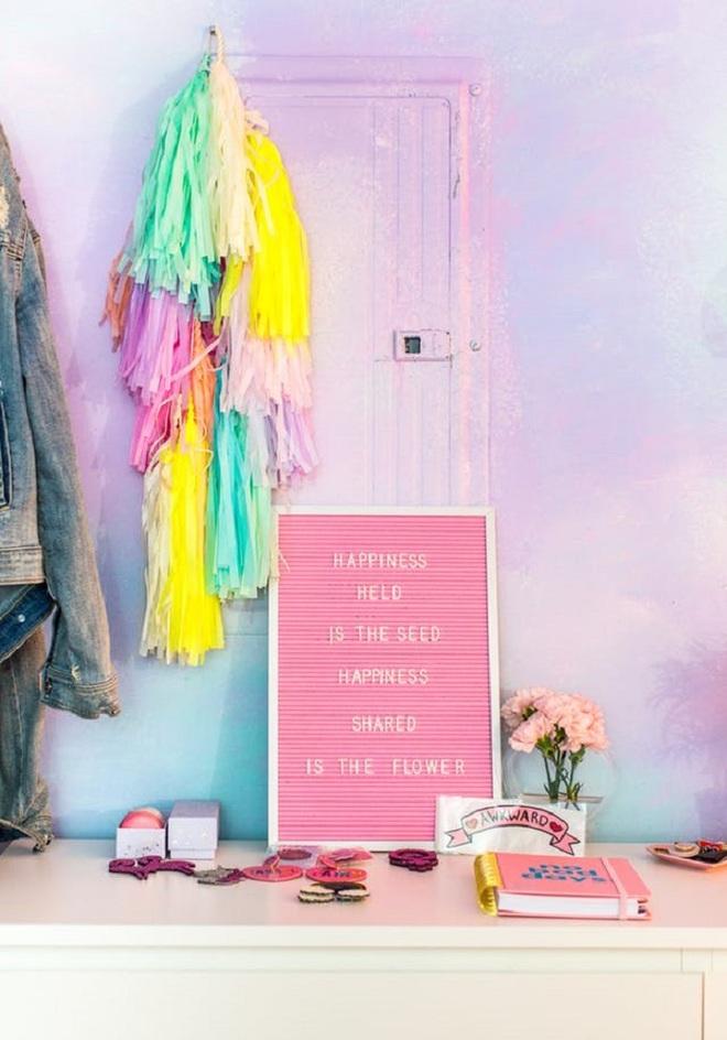 Để sắc cầu vồng ngập tràn trong ngôi nhà bạn chỉ với cách làm đơn giản này - Ảnh 2.