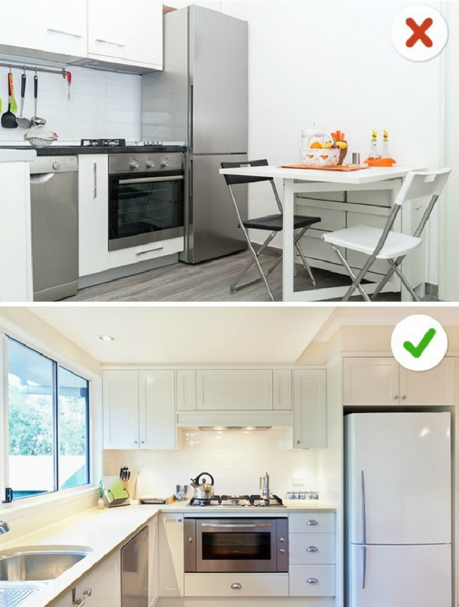 12 sai lầm nghiêm trọng trong thiết kế nhà bếp và các cách đơn giản để giải quyết nó ngay tức thì - Ảnh 4.
