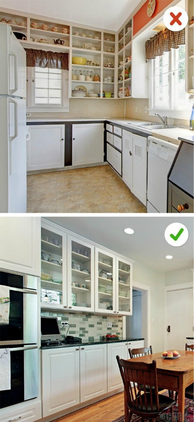 12 sai lầm nghiêm trọng trong thiết kế nhà bếp và các cách đơn giản để giải quyết nó ngay tức thì - Ảnh 7.