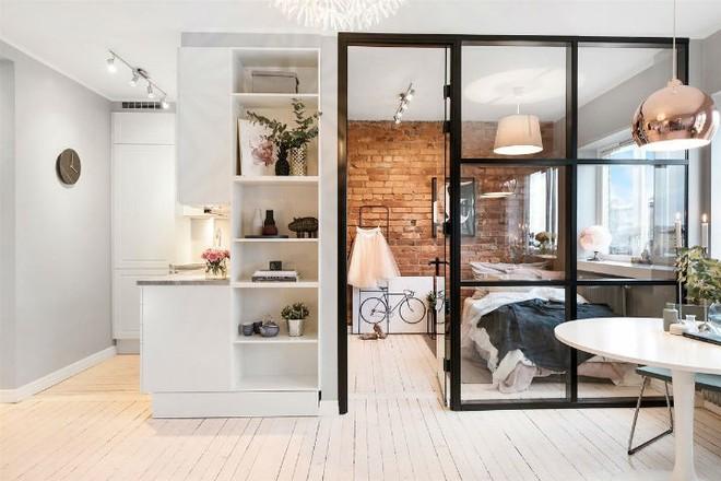 Căn hộ nhỏ 30m² đẹp đến từng góc nhỏ với phong cách trang trí Scandinavians - Ảnh 1.
