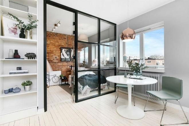 Căn hộ nhỏ 30m² đẹp đến từng góc nhỏ với phong cách trang trí Scandinavians - Ảnh 6.
