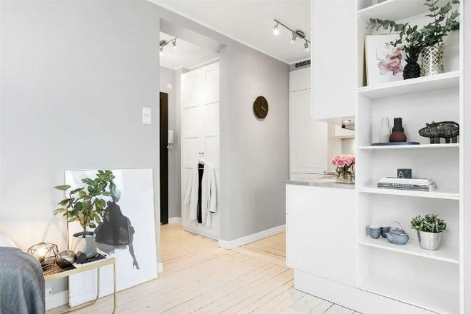 Căn hộ nhỏ 30m² đẹp đến từng góc nhỏ với phong cách trang trí Scandinavians - Ảnh 8.
