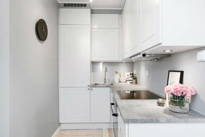 Căn hộ nhỏ 30m² đẹp đến từng góc nhỏ với phong cách trang trí Scandinavians - Ảnh 9.