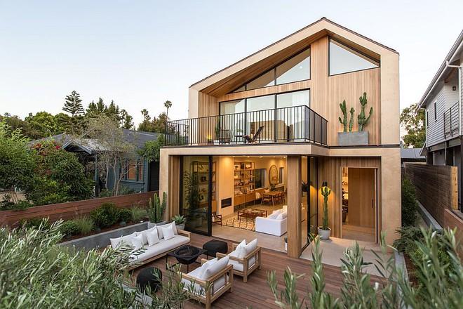 Sử dụng chủ yếu vật liệu gỗ, ngôi nhà này vẫn đốt ánh nhìn bất cứ ai khi ngắm từng góc nhỏ - Ảnh 1.
