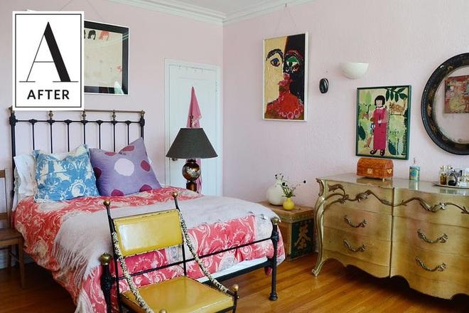 Làm mới phòng ngủ một cách ngẫu hứng, cô gái khiến bao người phải ngưỡng mộ vì sự sáng tạo của mình - Ảnh 7.