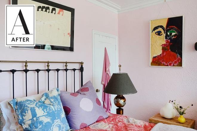 Làm mới phòng ngủ một cách ngẫu hứng, cô gái khiến bao người phải ngưỡng mộ vì sự sáng tạo của mình - Ảnh 10.