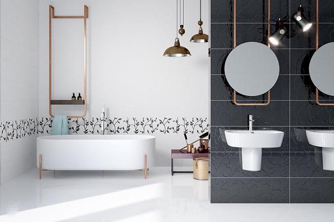 Đèn chùm – món đồ hữu dụng biến phòng tắm gia đình trông vừa đẹp vừa sang trong phút chốc - Ảnh 10.
