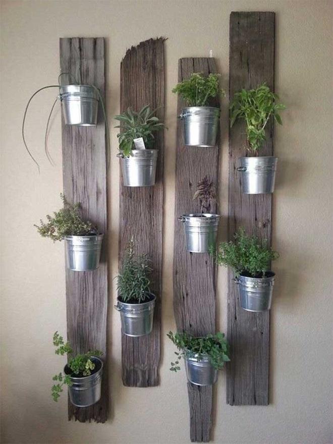 Bạn đã biết đến 13 ý tưởng trồng cây xanh từ đồ vật cũ để trang trí nhà cực đẹp mắt chưa? - Ảnh 11.