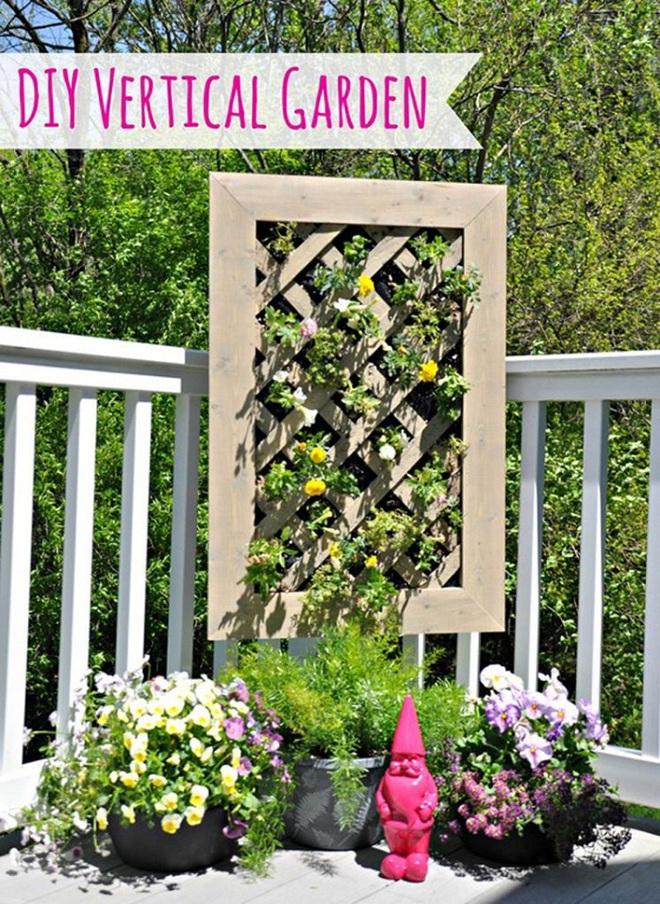 Không cần là người làm vườn giỏi bạn vẫn có thể trang trí sân vườn ấn tượng như thế này - Ảnh 8.