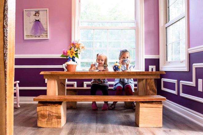 Ngôi nhà mà ông bố tự tay hoàn thành cho 2 cô con gái và câu chuyện khiến ai cũng cảm động - Ảnh 5.