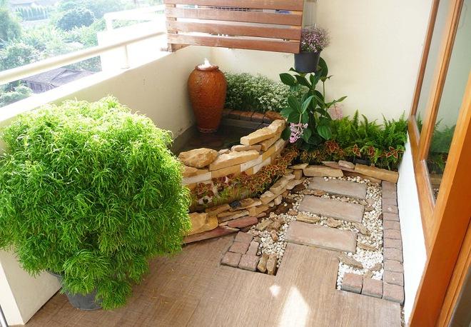 Ban công nhỏ biến thành khu vườn xanh mát đẹp hút ánh nhìn với những ý tưởng đơn giản không ngờ - Ảnh 2.