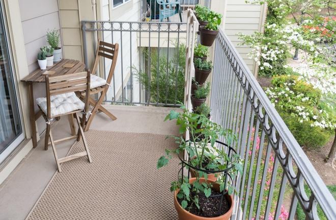 Ban công nhỏ biến thành khu vườn xanh mát đẹp hút ánh nhìn với những ý tưởng đơn giản không ngờ - Ảnh 3.
