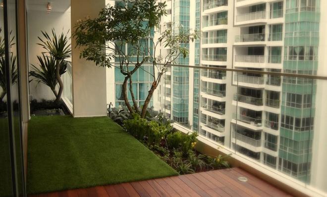 Ban công nhỏ biến thành khu vườn xanh mát đẹp hút ánh nhìn với những ý tưởng đơn giản không ngờ - Ảnh 8.