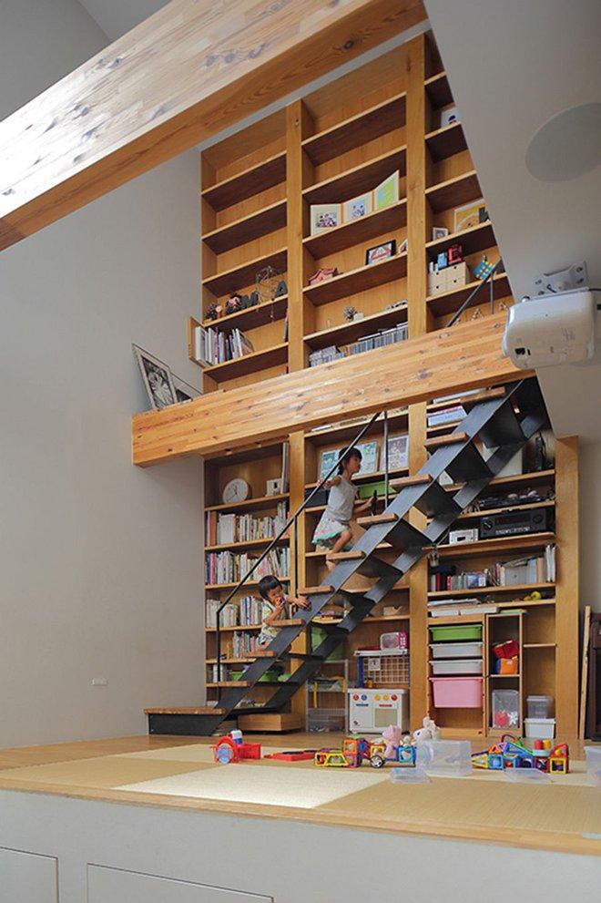 Ngôi nhà ở Nhật Bản chỉ sử dụng chất liệu gỗ, bê tông nhưng có nhiều điều ẩn chứa bên trong ít người biết - Ảnh 5.
