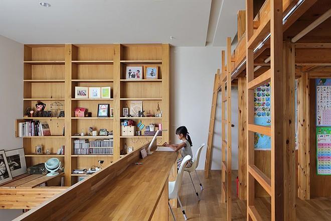 Ngôi nhà ở Nhật Bản chỉ sử dụng chất liệu gỗ, bê tông nhưng có nhiều điều ẩn chứa bên trong ít người biết - Ảnh 9.