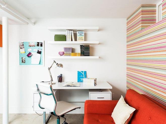 Ngôi nhà 2 tầng tuyệt đẹp dành cho những người yêu sách và âm nhạc - Ảnh 11.