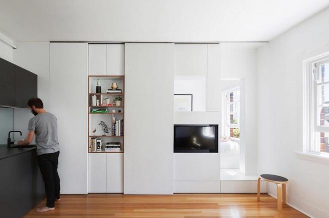 Căn hộ vỏn vẹn 27m² trên tầng 20 của vợ chồng trẻ tuy nhỏ nhưng khiến ai cũng ao ước - Ảnh 5.