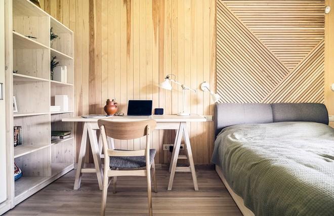 """Với bộ khung được làm hoàn toàn bằng gỗ, ngôi nhà này xứng đáng nhận danh hiệu """"nơi trú ẩn ấm áp"""" nhất hành tinh - Ảnh 7."""