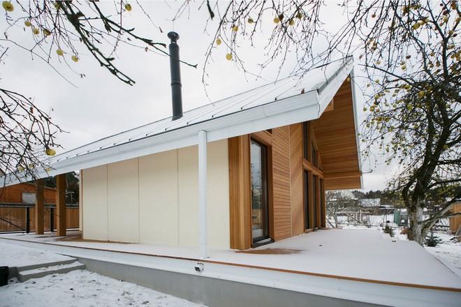 """Với bộ khung được làm hoàn toàn bằng gỗ, ngôi nhà này xứng đáng nhận danh hiệu """"nơi trú ẩn ấm áp"""" nhất hành tinh - Ảnh 8."""