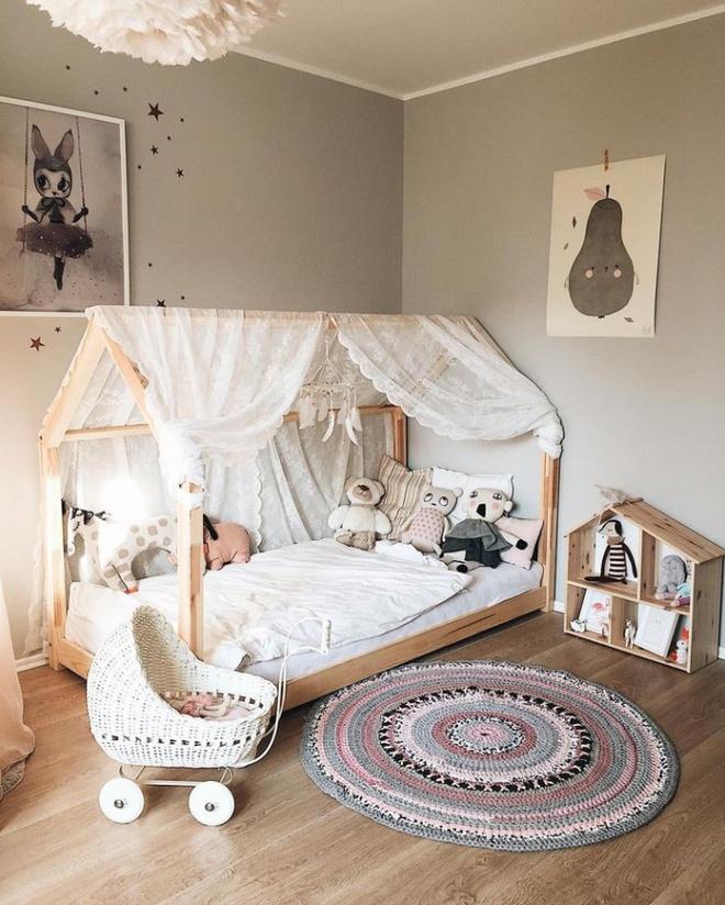 Nếu có con gái, nhất định ba mẹ nên trang trí phòng cho bé đẹp như thế này - Ảnh 1.