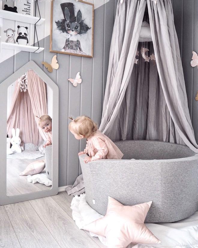 Nếu có con gái, nhất định ba mẹ nên trang trí phòng cho bé đẹp như thế này - Ảnh 3.